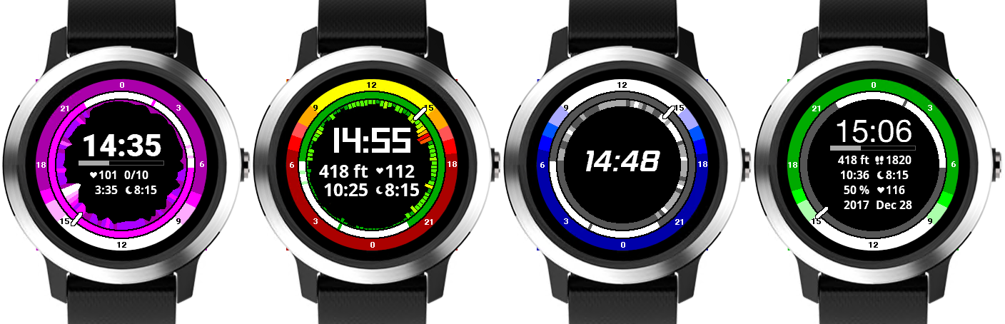 Garmin watch faces by Tomáš Slavíček – Created by Tomáš Slavíček for